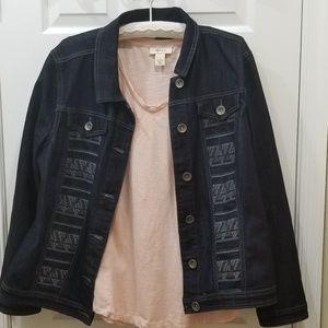 Jean jacket-Christopher & Banks